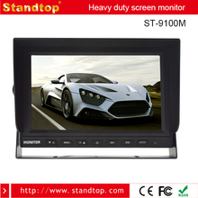 "Small size 9"" flat screen/9 inch bus dvd player 24v lcd tv monitor for car"