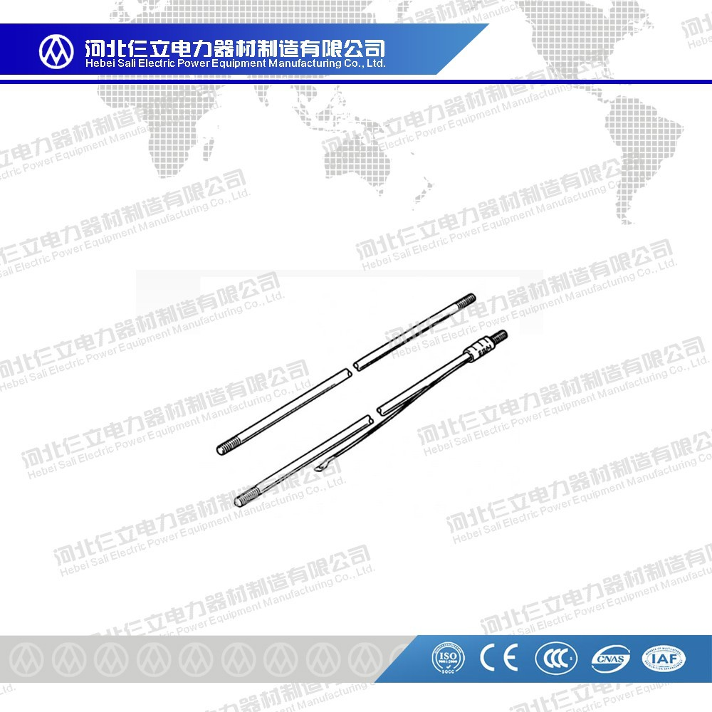 Copper Clad Earthing Rod/Copper Plated Threaded Rod