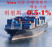 Yiwu Purchase Buying Agent to Korea Sourcing Agent Cheap Commission