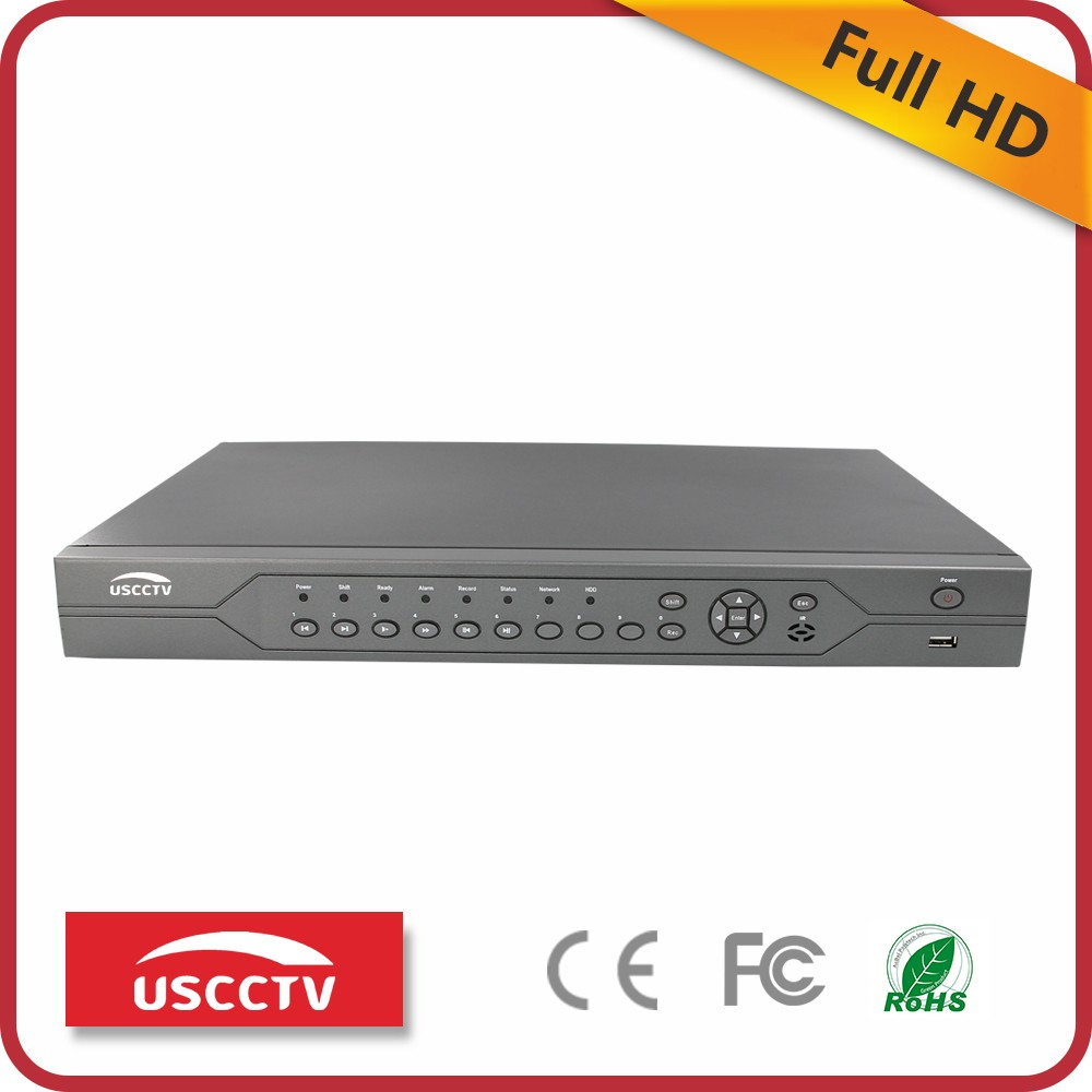 USC 2017 standalone remote control hybrid full d1 embedded 4 channel 16 ch h 264 cloud 8 channel dvr