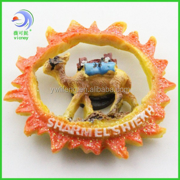 new products promotional hight quality Egypt souvenir fridge magnet with many styles CLY-220