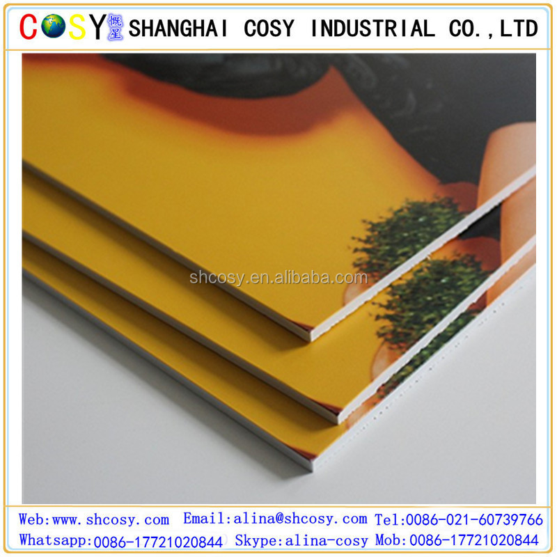 Shanghai manufacturer PS Foam KT board Made from Polystyrene
