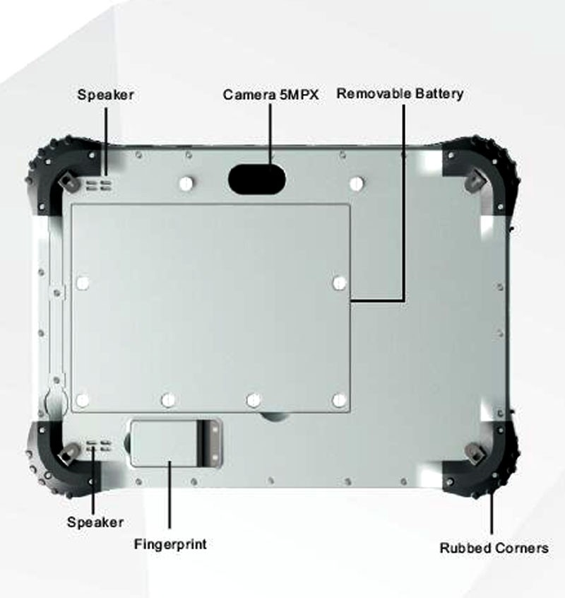 Cheapest 10 Inch Rugged Tablet Computers For Outdoor Various Harsh Environment