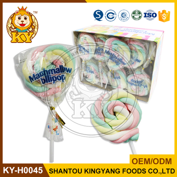 Wholesale Sweet Marshmallow Lollipop