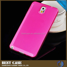 Crystal Clear Transparent Soft 0.3mm TPU Case For Samsung galaxy note 3 Skin Cover