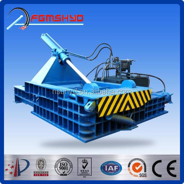 CE made in China Factory Automatic Waste metal baler machine