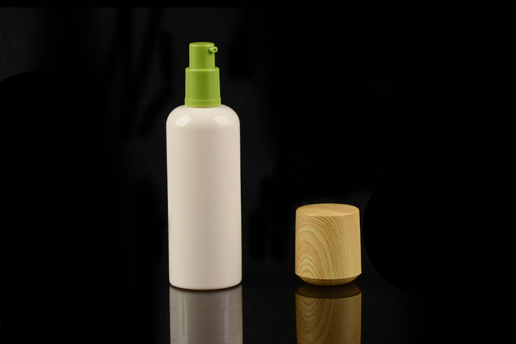 Shaoxing Luxury white Samples Container Cosmetic Plastic Bottle PET cosmetic container