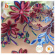 Latest design 3D handmade flower special embroidery rope cord tokay african lace