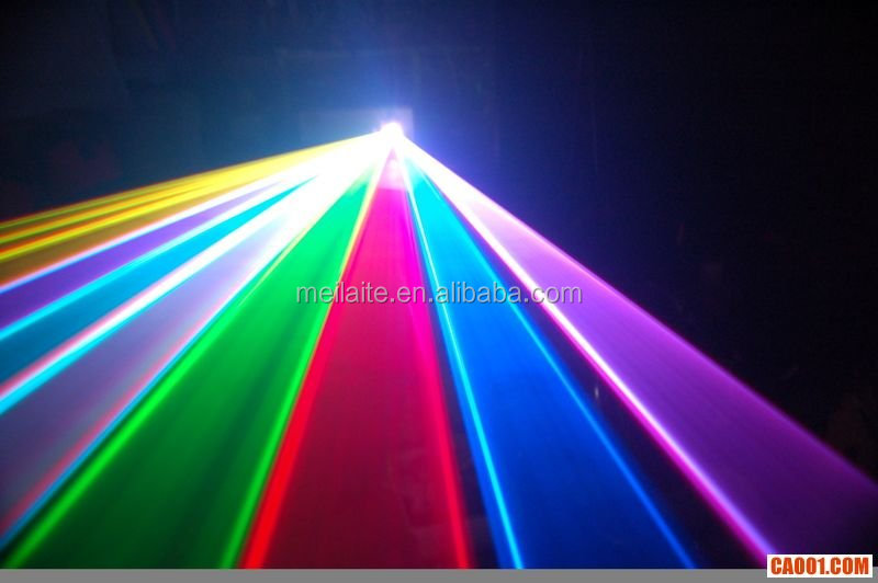 1W full color laser projector /high power laser light / club light