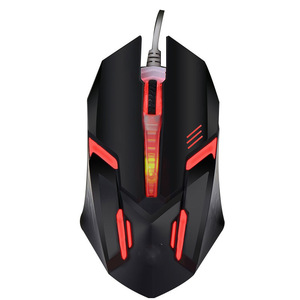 RGB Backlit Gaming Mouse 3 Buttons Lighting Wired PC Mice for Computer PC Laptop Mouse 2018 Hot Selling NS0009