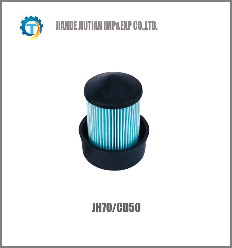 JH70 CD50 colored motorcycle air filter High Quality
