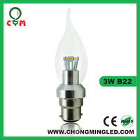 chandelier in Dongguan glass hotel led candle happy