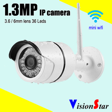 VisionStar Mobile view home surveillance 960P 1.3MP mini wifi ip camera