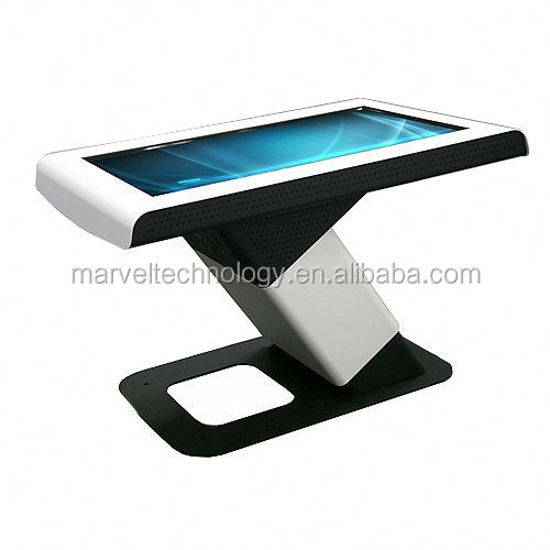 multimedia touchscreen information table kiosk, multi touch screen conference table