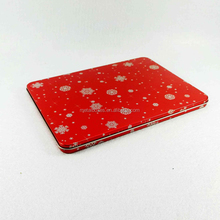 Hot Sale Metal Rectangular Christmas Gift Box Packaging Thin Tin Can