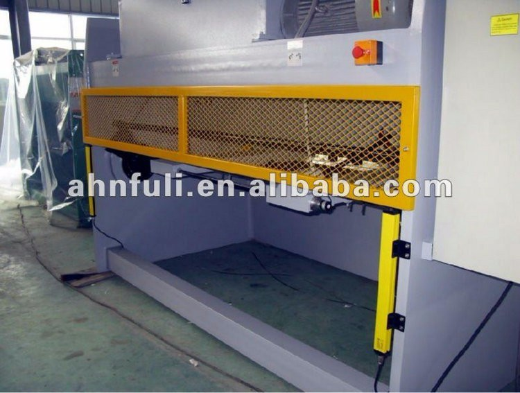 QC11Y-16x4000-E10 Hydraulic Guillotine plate cutting Machine/ sheet metal cutting machine/ Guillotine shearing
