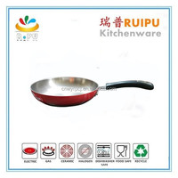 2015 new product 20cm stainless steel cooking pot fry pan