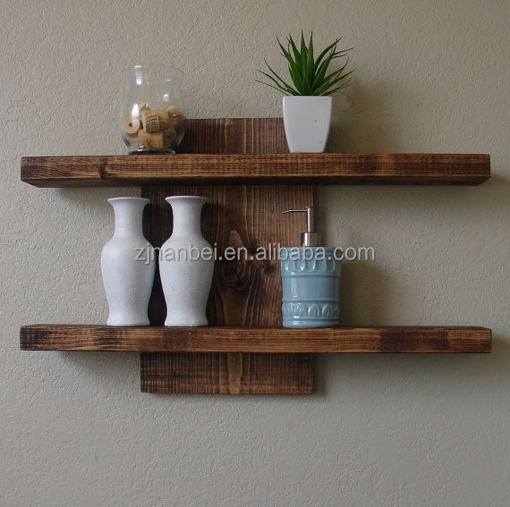 Custom Solid Wooden Mounted Wall Decorative Shelf Buy