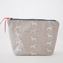 Schnauzer Pink Washbag Cosmetic Bag Large Toiletry Bag for Girls