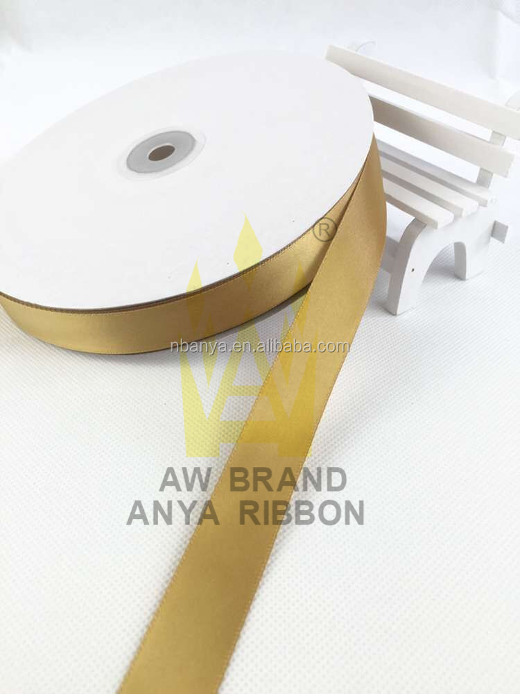 "Factory Wholesale 20mm 3/4"" Polyester Satin Ribbon,Factory Supply Custom Design Colorful Single Face Satin Ribbon For Gift"