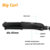 2018 Private label hair wand big wave 2 in one Tourmaline Ceramic Hair Curler Hair Curling Wand