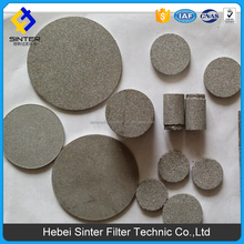 stainless steel Porous sintered metal powder filter disc