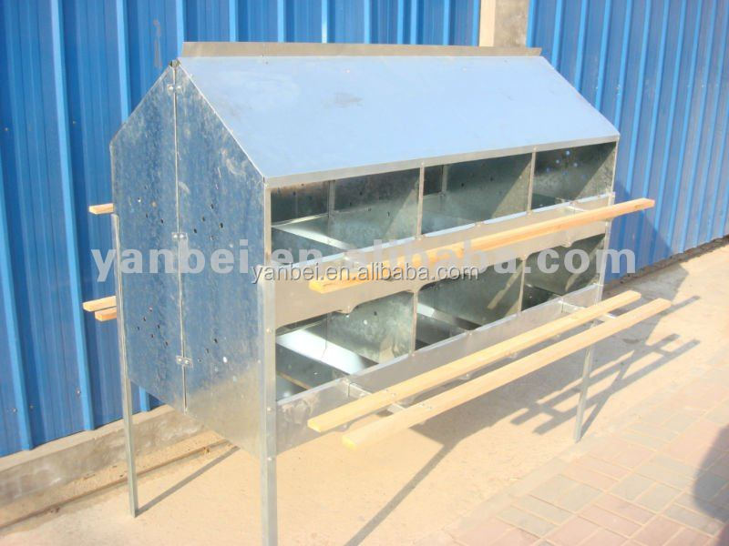 24 Holes Zinc Sheet Hen Nesting Boxes