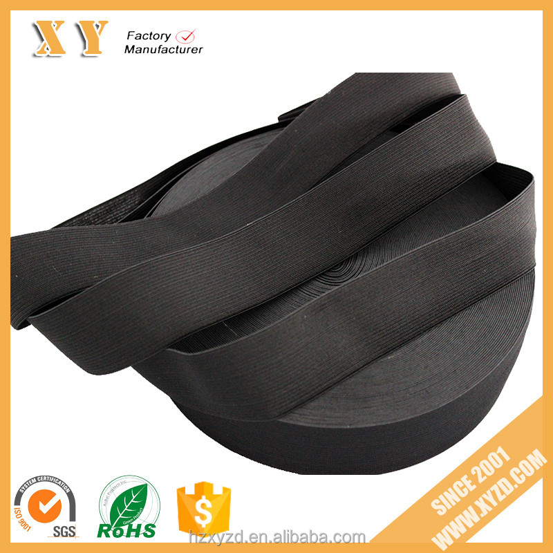 hotselling china supplier garment accessory military 55mm elastic webbing/band