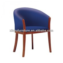 fancy upholstered arm chair in blue XY2649#
