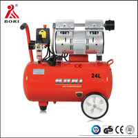 20 year factory portable oil free silent air compressor