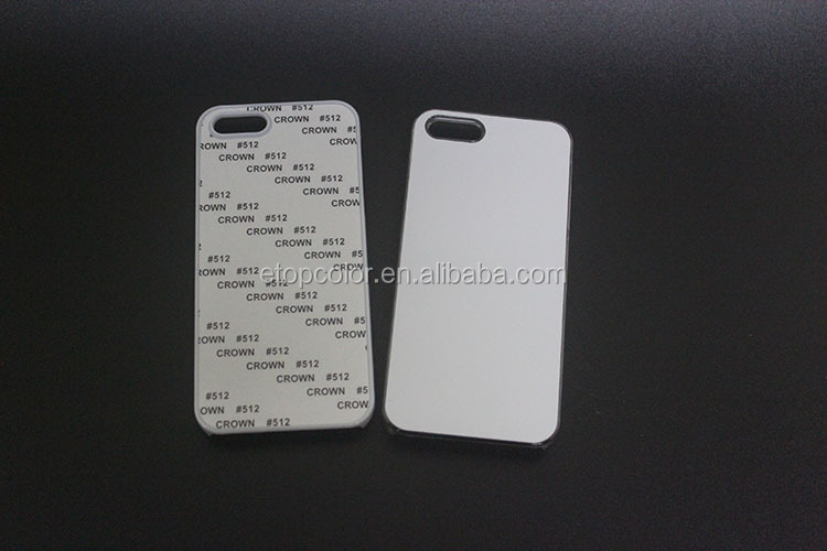 2D plastic hard heat transfer mobile phone cover for Iphone 5/5S case