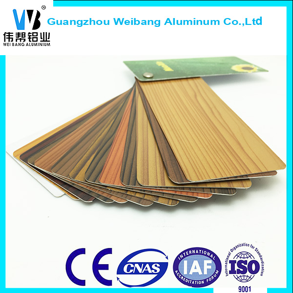 Best Selling Wooden Transfur Aluminum Extrusion Profile for making Window /door/ casenment/shower room