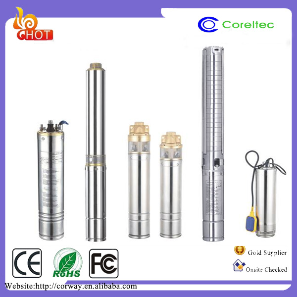 Solar Power Deep Well Water Pump Electric Submersible Pumps