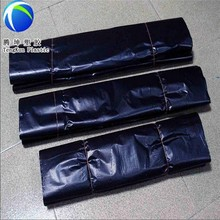 Various sizes and colors good and cheap price plastic hdpe garbage bag on roll made from raw or recycled material
