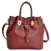 TOP GRADE PU LEATHER BUCKET BAG LADIES SHOULDER BAG