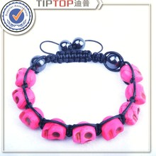 Christmas gift minimum price sales lady jewelry all kinds of color fashion skeleton Bracelet