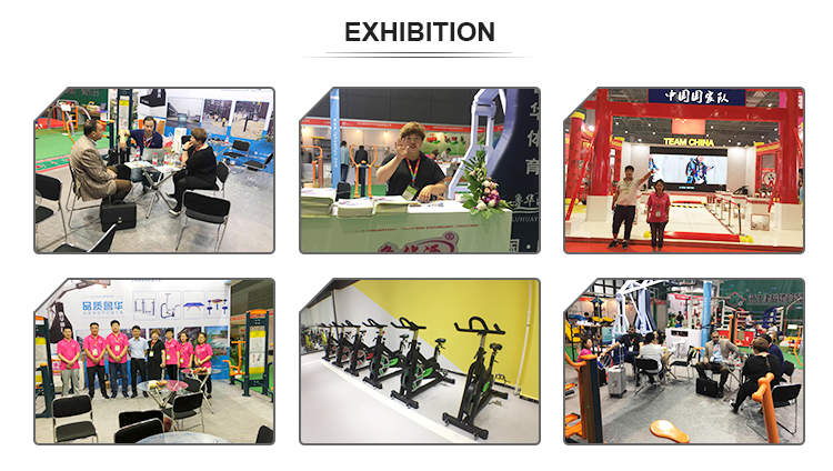 integrated gym equipment