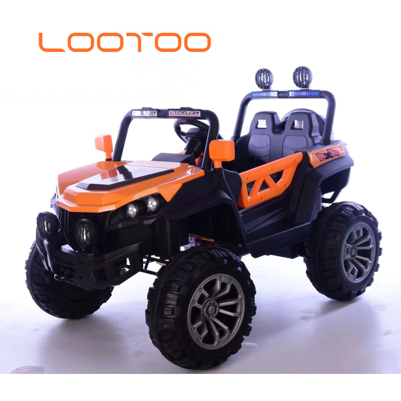 ATV 12 volt battery toy sport outdoor 4 wheel orange children mini electric car for 4-8 year