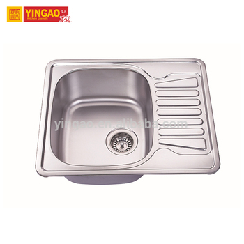 201 stainless steel small bowl kitchen sink