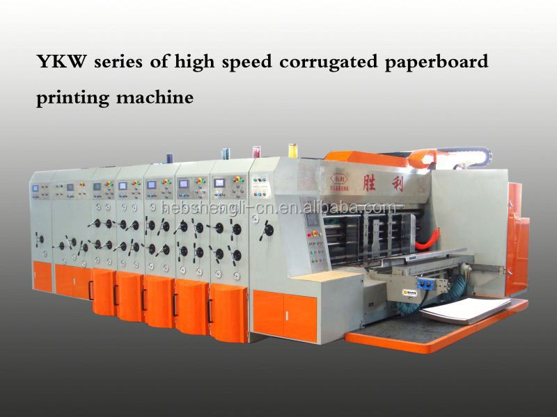 flexo printer and slotter and die cutter