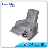 comfort pu leather/fabric optional living room furniture electric recliner standing up sofa designs