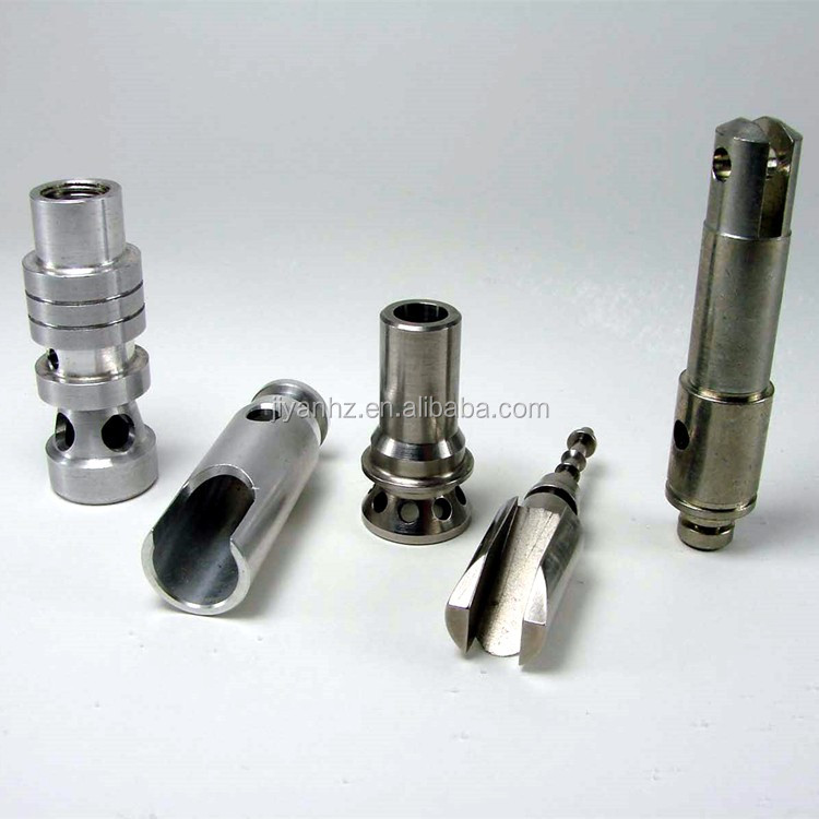 High grade enviromental certificated cnc metal parts drilling shaft pin