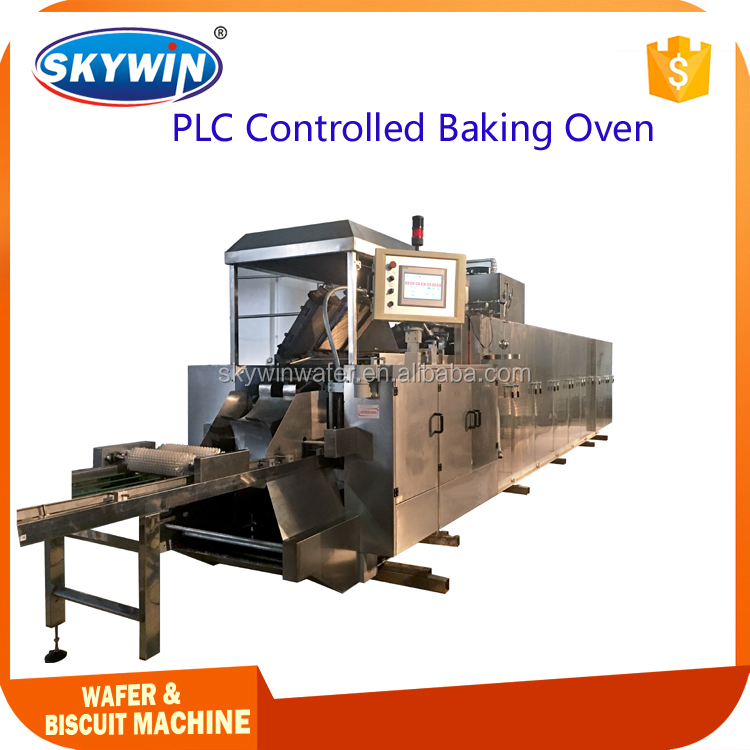 Commercial Usage Automatic Gas Heated Wafer Baking Oven