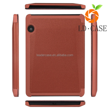 Back stand leather phone cover for Kindle Touch case for Amazon 6 inch Tablet case