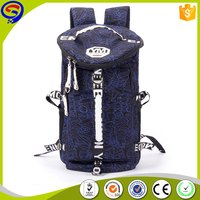 New style professional daypack canvas backpack