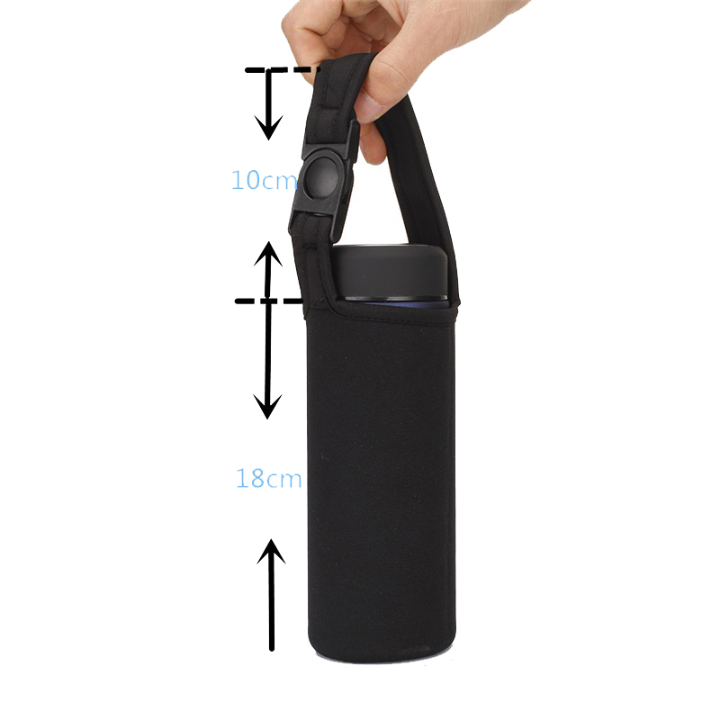 Wholesale Custom Neoprene Insulated Drink Water Bottle Sleeve With Handle