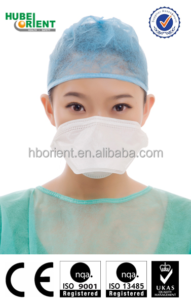Disposable folding surgical face mask/Duck bill Face Mask