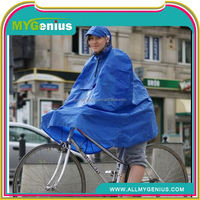 promotional rain poncho ,H0T050 hoodie bicycle raincoat , giveaway poncho