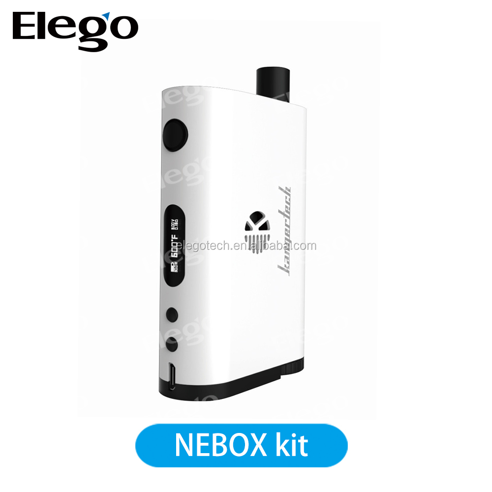 New All In One Design Vaperizer kanger Nebox/up To 60W Temp Control Mod Nexbox Starter Kit/ Kanger Nebox TC Kit from Elego