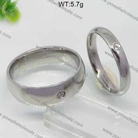Fashion couple rings hidden camera men's rings